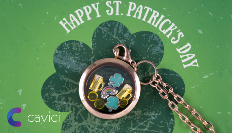 St Patrick's Day Locket