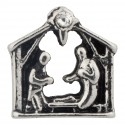 Nativity Scene - Jesus Floating Charm
