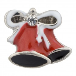 Holiday Bells Floating Charm