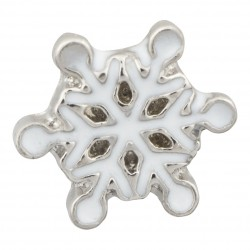 Snow Flake Floating Charm