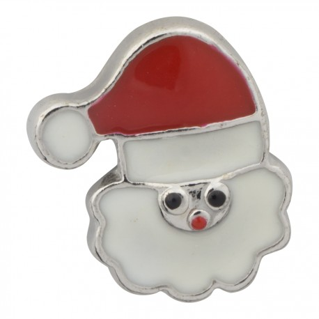 Santa Claus Face Floating Charm