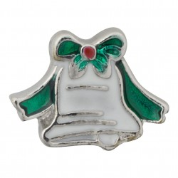 Holiday Bell Floating Charm