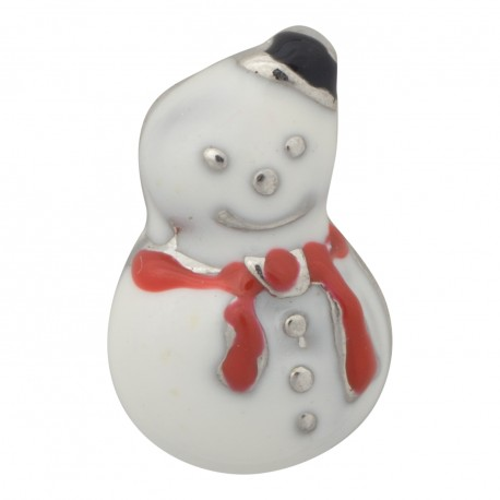 Snowman Floating Charm