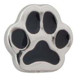 Paw Print Floating Charm