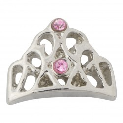 Princess Tiara Floating Charm