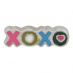 XOXO - Hugs and Kisses Floating Charm