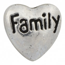 Heart - Family Floating Charm