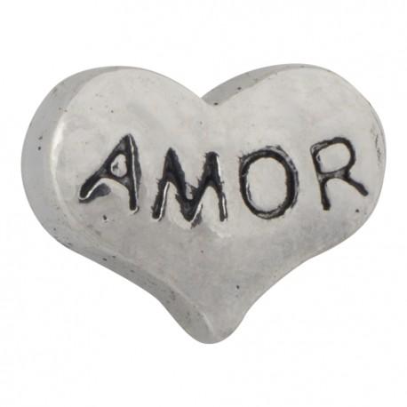 Heart - Amor Floating Charm