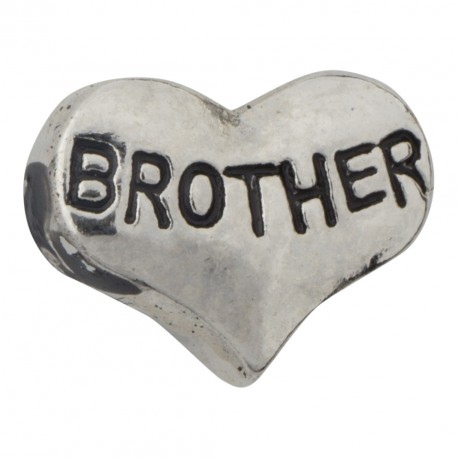 Heart - Brother Floating Charm