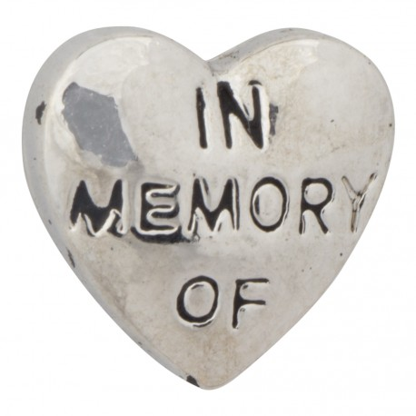 Heart - In Memory Of Floating Charm
