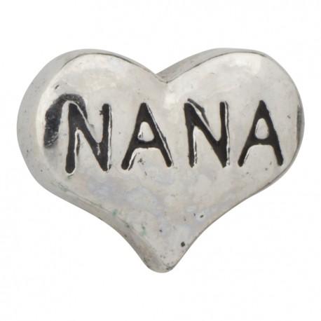 Nana Heart Floating Charm