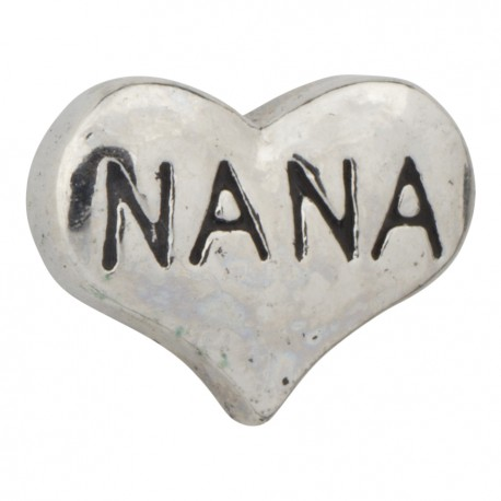 Nana Heart Floating Charm