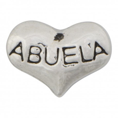 Heart - Abuela Floating Charm
