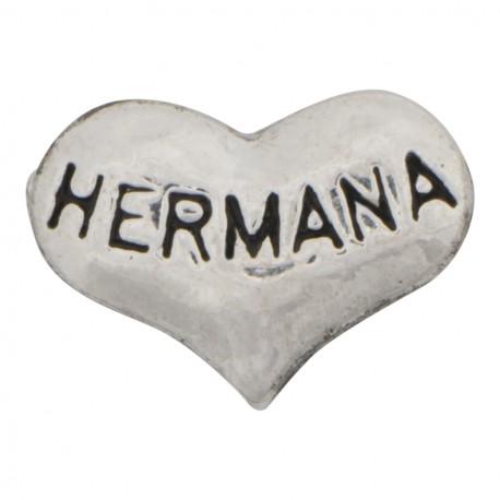 Heart - Hermana Floating Charm