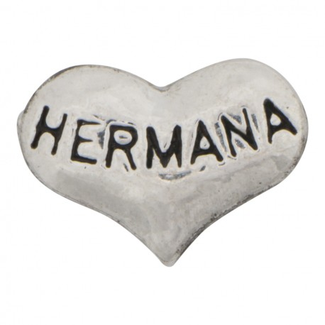 Heart - Hermana Floating Charm