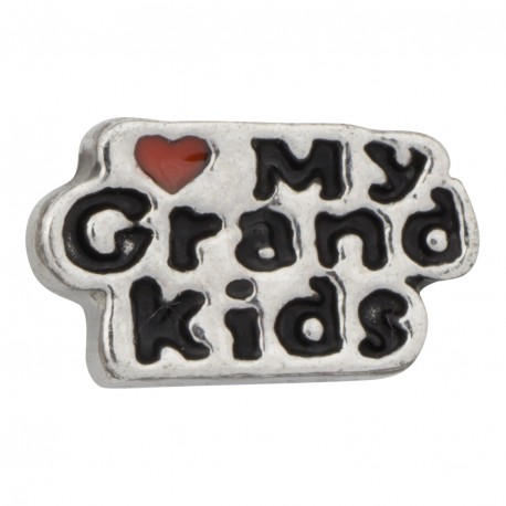 Love my Grand Kids Floating Charm
