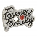 Forever Family Floating Charm