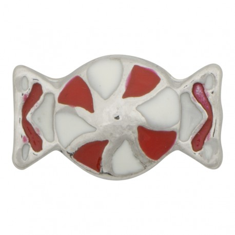 Pinwheel Candy Floating Charm