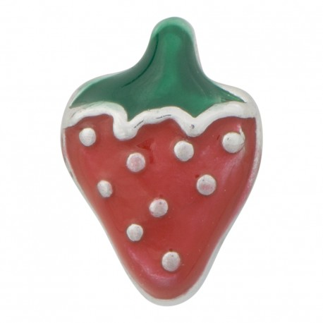 Strawberry Floating Charm