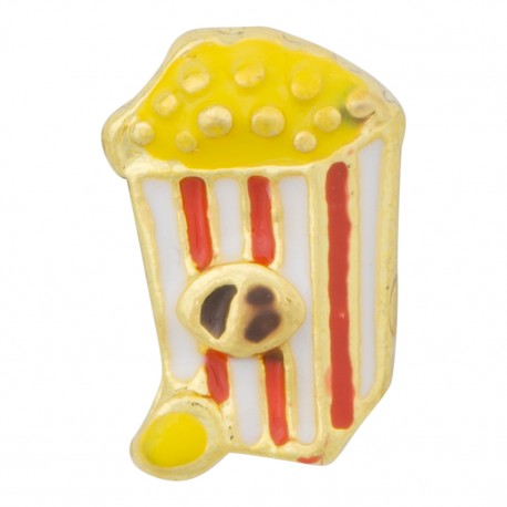 Popcorn Floating Charm