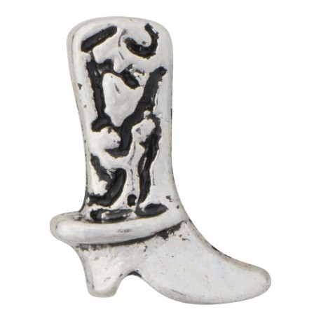 Cowboy Boot Floating Charm