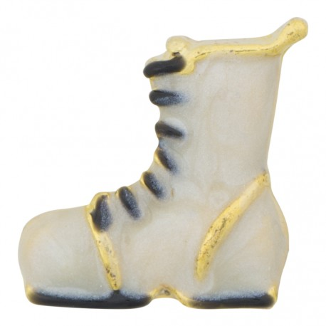 Boot - White Floating Charm