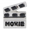 Movie Clapper Board Floating Charm