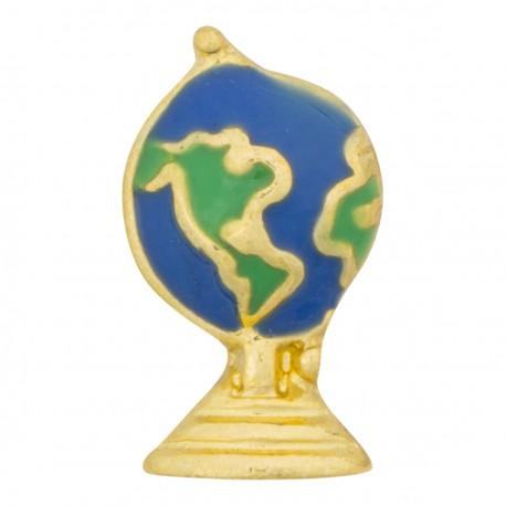 Earth Globe Floating Charm