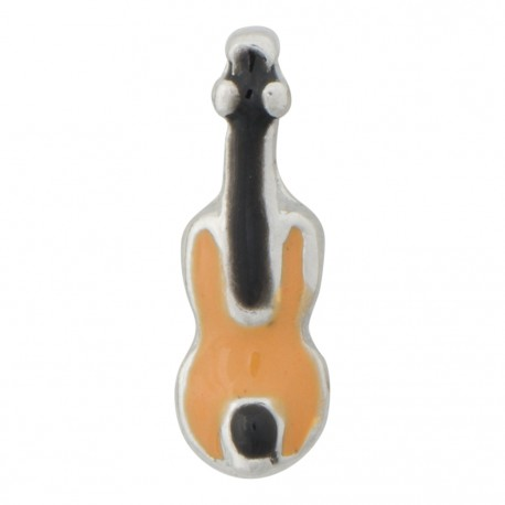 Violin Floating Charm