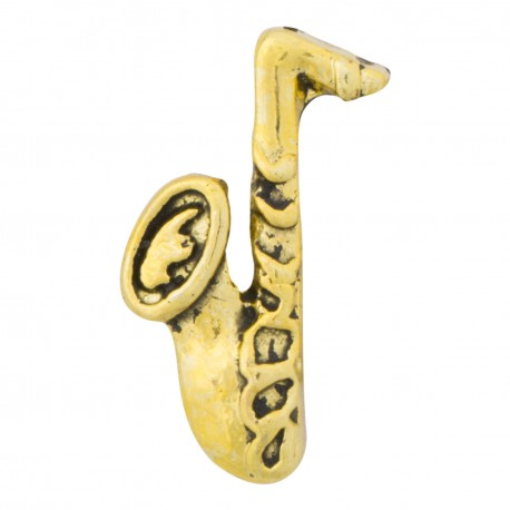 Saxophone Floating Charm