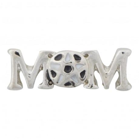 Mom - Soccer Floating Charm