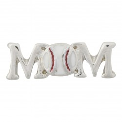 Mom - Baseball Floating Charm