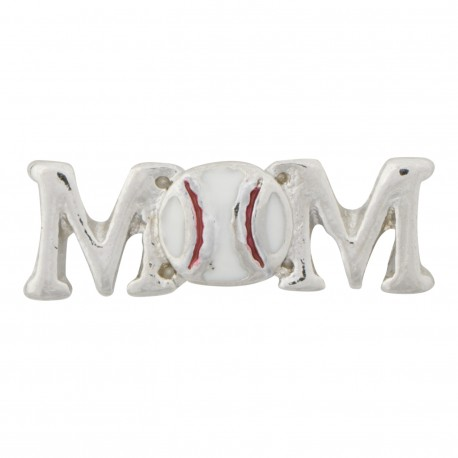 Mom - Baseball Floating Charm