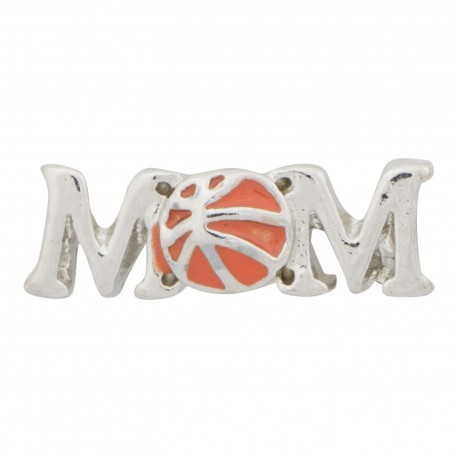 Mom - Basketball Floating Charm