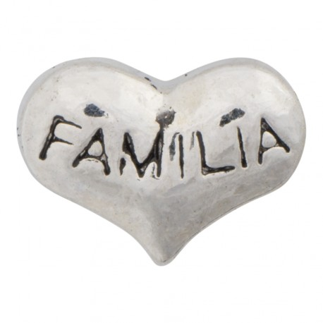 Heart - Familia Floating Charm