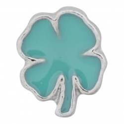 Four Leaf Clover - Shamrock Floating Charm