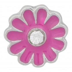 Flower - Purple Floating Charm
