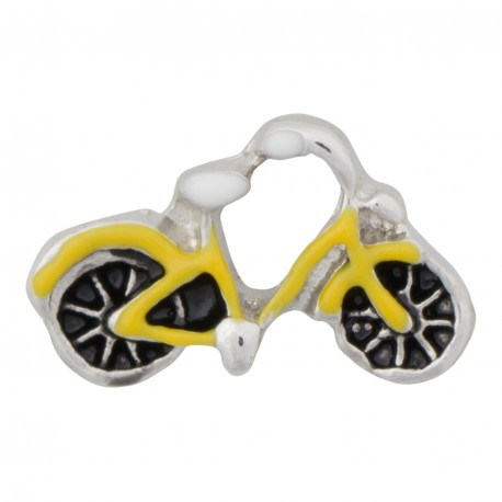 Bicycle Floating Charm