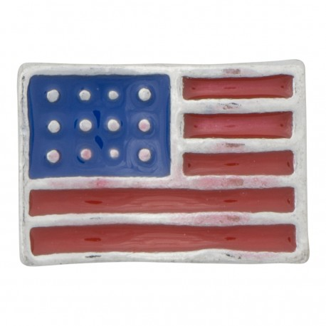 American Flag - USA Floating Charm