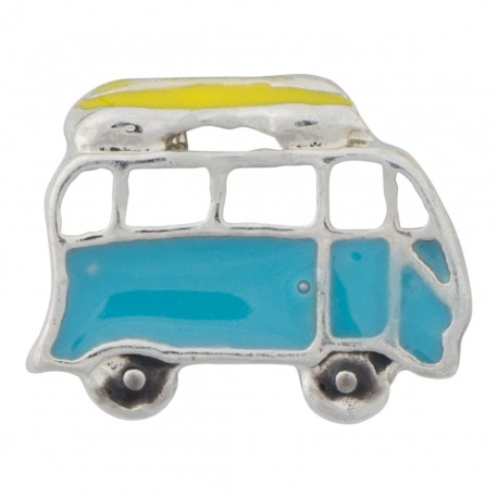 Van / Bus with Surfboard Floating Charm
