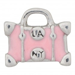 Suitcase - LA to NY Floating Charm