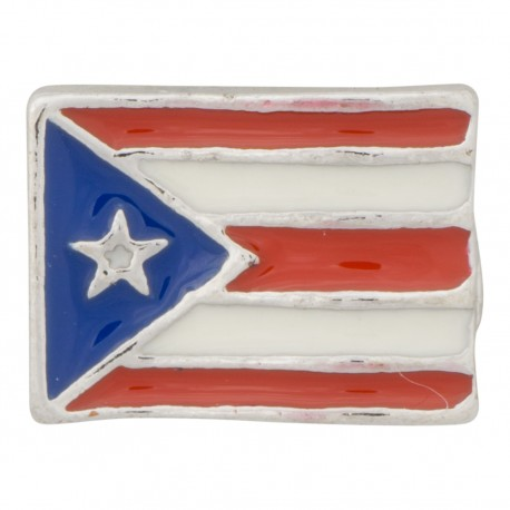 Puerto Rico Flag Floating Charm