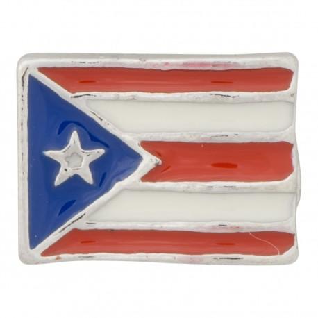 Puerto Rico Flag Floating Charm