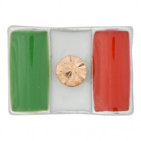 Mexico Flag Floating Charm