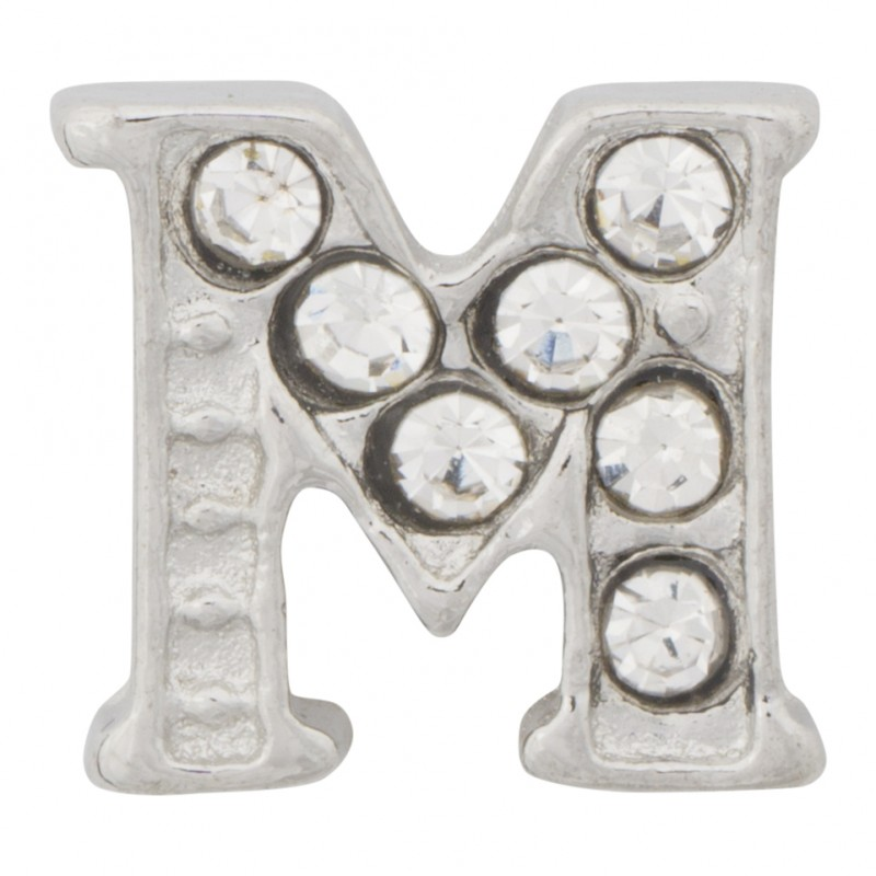 m letter in silver - photo #8