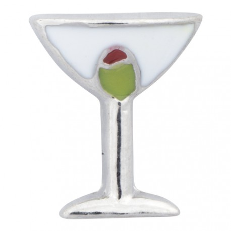 Martini Glass - Cocktail Floating Charm