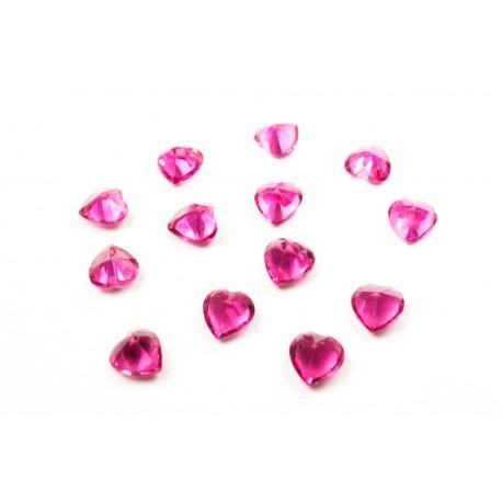 Heart Crystal - Garnet