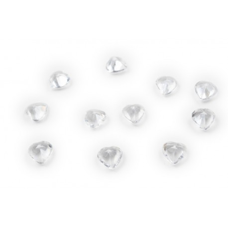Heart Crystal - Diamond