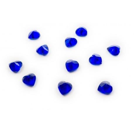 Heart Crystal - Sapphire