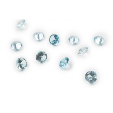 Round Crystal - Aquamarine